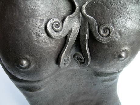 Nudo in ferro battuto-5