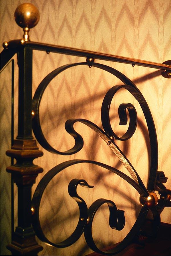 Scala interna in ferro e ottone-6