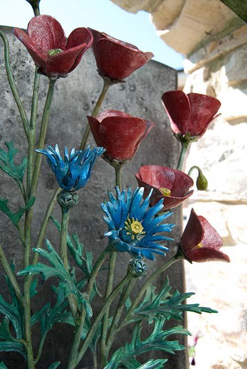 Inserti floreali per vani in muro esterno-5