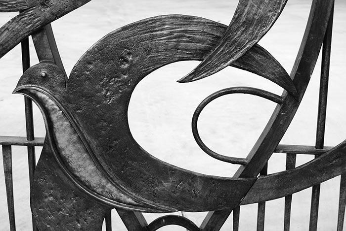 Cancello con rondini-6