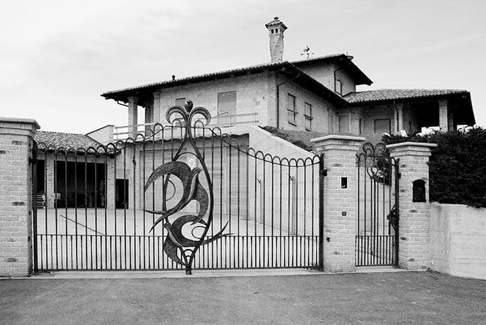 Cancello con rondini-1