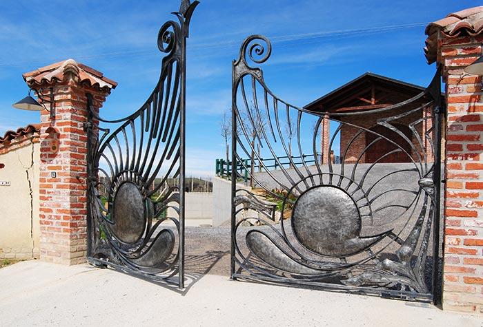 Cancello Cantina Vielmin-2
