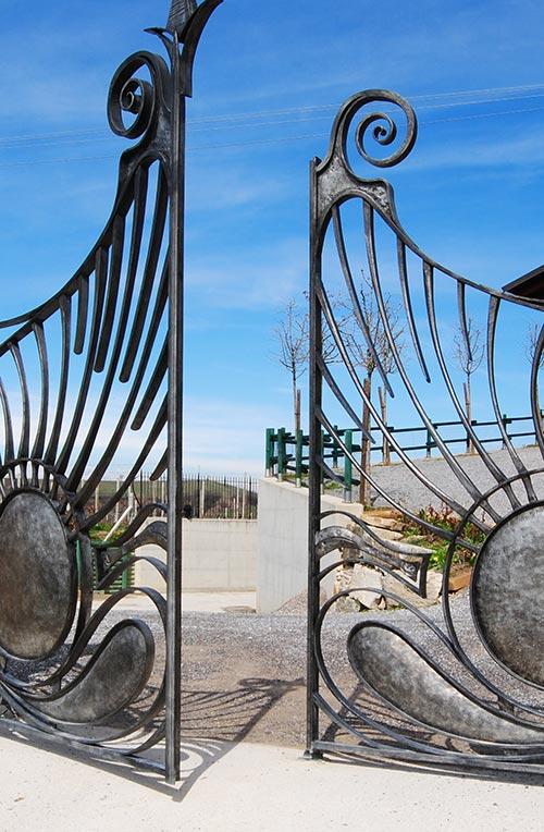 Cancello Cantina Vielmin-4