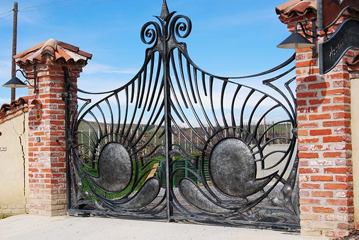 Cancello Cantina Vielmin-1