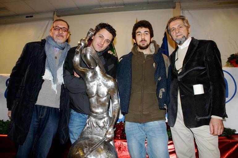 Da sinistra: Ivano, Emiliano, Bernardo e Gino
