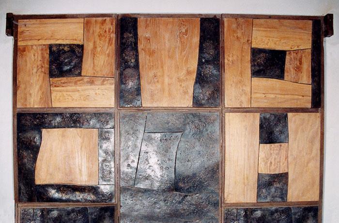 Super Portone in legno e ferro battuto | Scarsi Bernardo ZR65